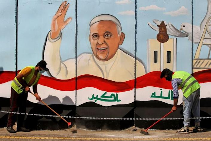 The visit of Pope Francis will be the first ever papal trip to Iraq