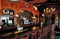 """<p>You can't help but belly up to the 35-foot mahogany bar at this <a href=""""https://www.tripadvisor.com/Restaurant_Review-g36282-d2394984-Reviews-The_Village_Tavern-Long_Grove_Lake_County_Illinois.html"""" rel=""""nofollow noopener"""" target=""""_blank"""" data-ylk=""""slk:Long Grove tavern"""" class=""""link rapid-noclick-resp"""">Long Grove tavern</a>. It's been in operation since 1849, and people still love it for the live entertainment and specials like prime rib and an all-you-can-eat fish fry.</p>"""