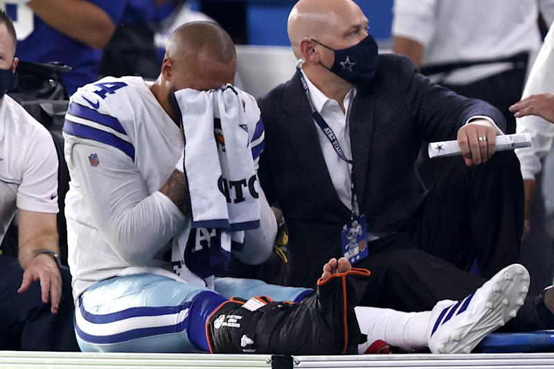 Dak Prescott injury: Cowboys QB to undergo surgery after gruesome ankle injury, according to report