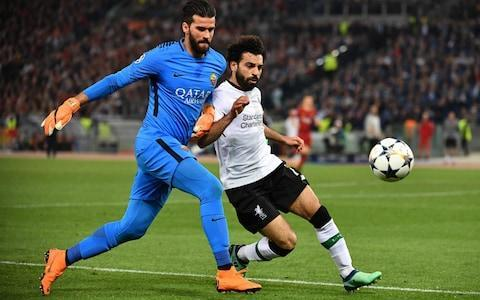 Liverpool plan fresh attempt to sign Roma goalkeeper Alisson after Loris Karius is cruelly exposed in Kiev