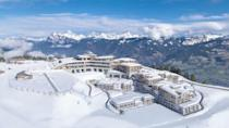 """<p>If your family prefers snow to surf, look no further than Club Med's all-inclusive alpine ski resort in Samoëns. This resort offers the ultimate ski-in, ski-out experience for families, making it a breeze for everyone to hit the slopes on their time. And après-ski can be customized to each person's preferences: there's a fabulous terrace bar with 360-degree views, after-ski spa treatments, and a heated swimming pool.</p><p>We're loving the resort's apartments-chalets for a family getaway, as they feature two- and three-bedrooms, private terraces with spectacular views, and many other exclusive amenities. <a href=""""https://www.clubmed.us/r/grand-massif-samoens-morillon/w"""" rel=""""nofollow noopener"""" target=""""_blank"""" data-ylk=""""slk:Club Med Grand Massif Samoëns Morillon"""" class=""""link rapid-noclick-resp"""">Club Med Grand Massif Samoëns Morillon</a> also features Baby Club Med, Childrens' Club, and babysitting services whenever the parents want a night at the live music-fueled lounge or a day to ski tougher terrain.</p>"""