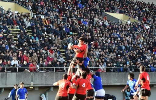 Japan's rugby team bank on business of winning