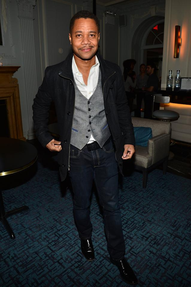 """NEW YORK, NY - APRIL 01:  Actor Cuba Gooding, Jr. attends """"The Company You Keep"""" New York Premiere After Party at Harlow on April 1, 2013 in New York City.  (Photo by Larry Busacca/Getty Images)"""