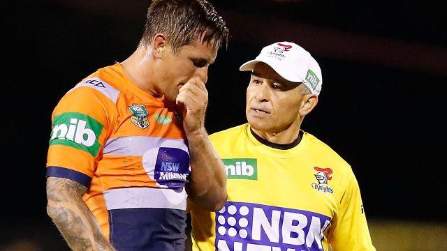 Terrible blow for the Knights. Image: Getty
