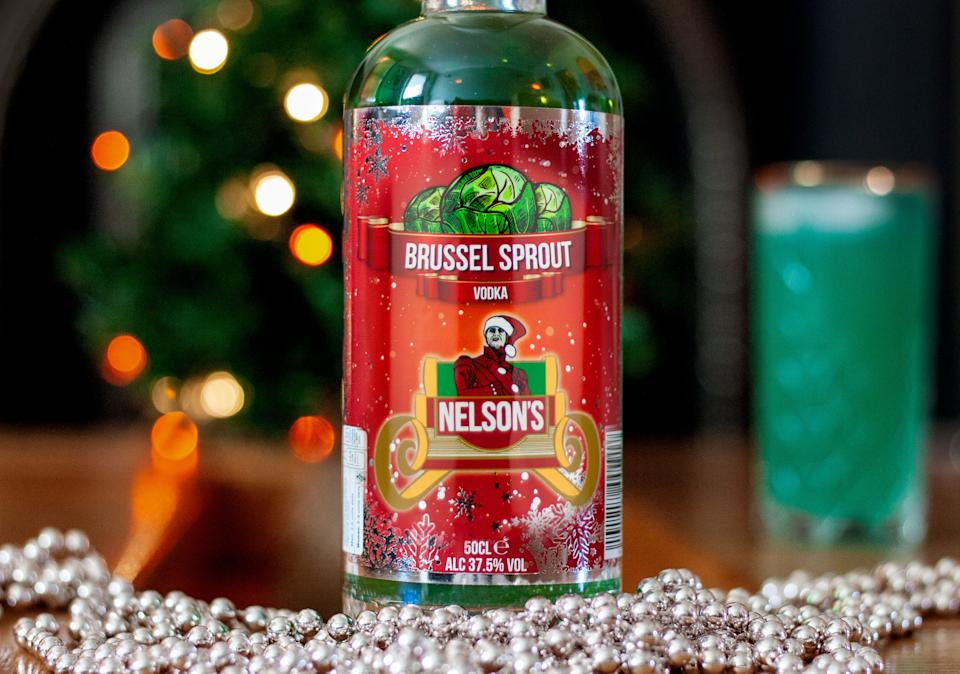 Nelson's Brussels Sprout Vodka (Photo: Nelson's)