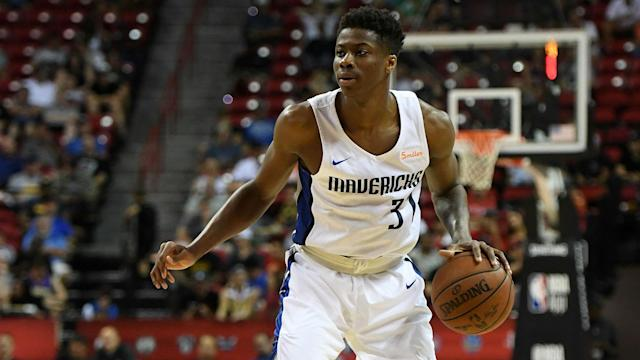 Dallas selected the younger Antetokounmpo with the final pick in the 2018 NBA Draft.