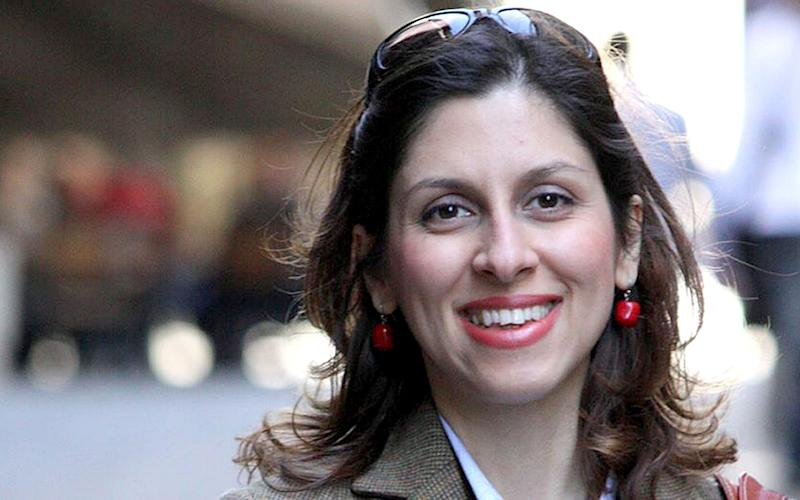 Nazanin Zaghari-Ratcliffe was briefly released from prison as part of Iran's response to the coronavirus pandemic - PA