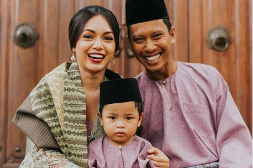 Nad and husband Faliq already have a five-year old son