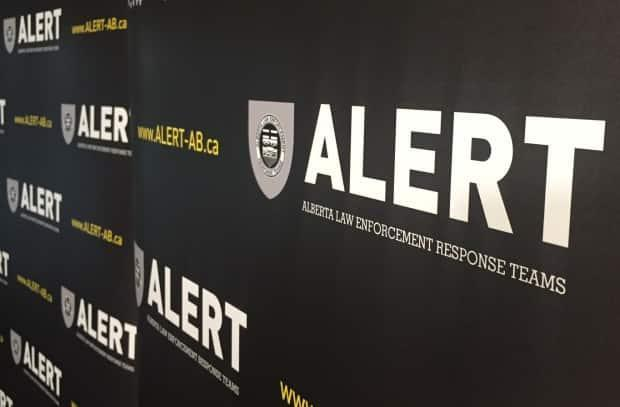 The Alberta Law Enforcement Response Teams  handle investigations into serious crimes. ALERT says it took months to conduct this investigation into human trafficking.  (CBC - image credit)