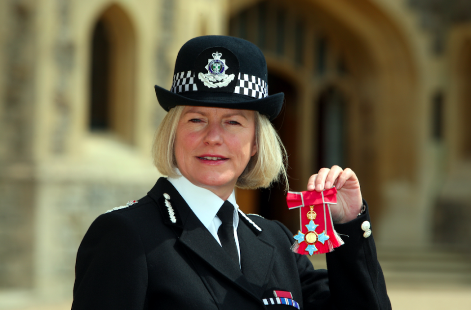 <em>Ms Thornton said core policing is 'seriously stretched' (Getty)</em>