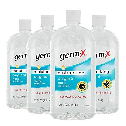 Germ-X Hand Sanitizer Pack of Four (Amazon / Amazon)
