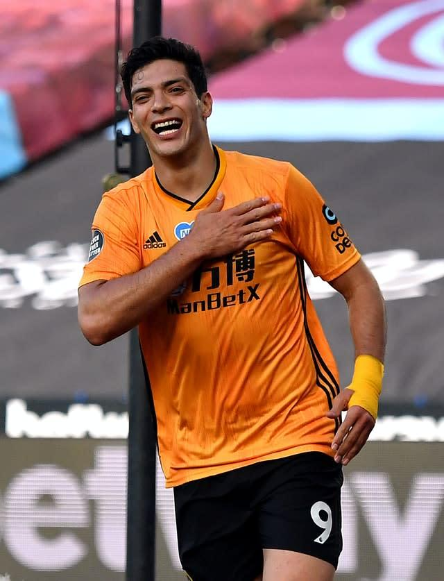 Juventus are believed to be willing to offer several players as part of a deal for Wolves striker Raul Jimenez (Ben Stansall/NMC Pool)
