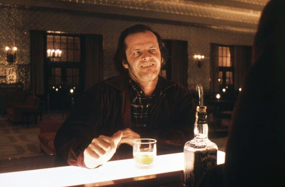 """<p>In order to assume the seething, incensed demeanor of his character Jack Torrance, Jack Nicholson<a href=""""https://www.eightieskids.com/10-things-you-never-knew-about-the-shining/"""" rel=""""nofollow noopener"""" target=""""_blank"""" data-ylk=""""slk:prepared himself for the role by only eating cheese sandwiches"""" class=""""link rapid-noclick-resp""""> prepared himself for the role by only eating cheese sandwiches</a> (a food he hates) for two weeks leading up to filming.</p>"""