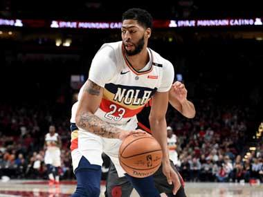 NBA: Disgruntled Anthony Davis will see reduced playing time with Pelicans, says interim manager Danny Ferry