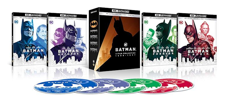 The Batman 4K Film Collection (Photo: Warner Bros.)