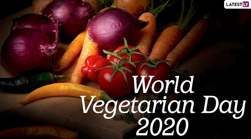 World Vegetarian Day 2020 Date, History and Significance: Know Everything About the Observance Dedicated to Highlight Benefits of a Vegetarian Lifestyle