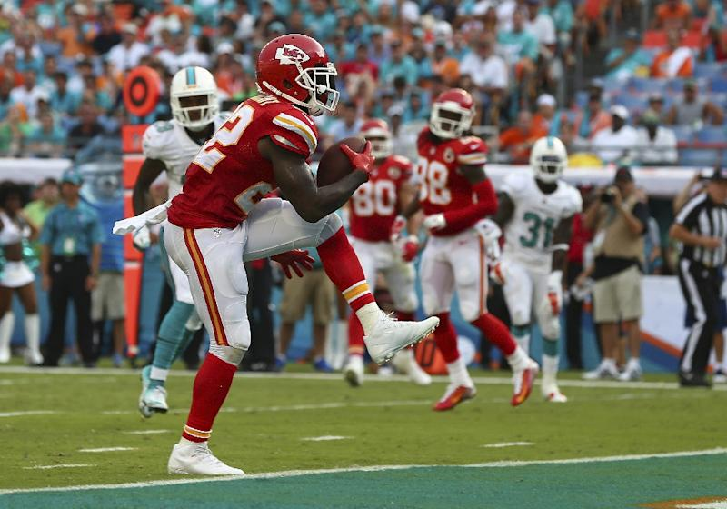 The man who shot running back Joe McKnight of the Kansas City Chiefs (pictured) was charged with second-degree murder