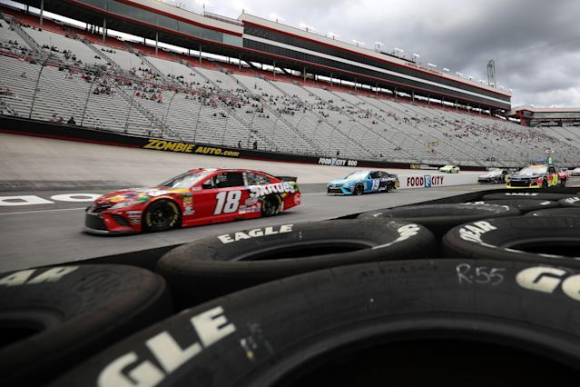 With breaks, qualifying at Richmond on Friday is set to take fewer than 30 minutes. (Getty Images)