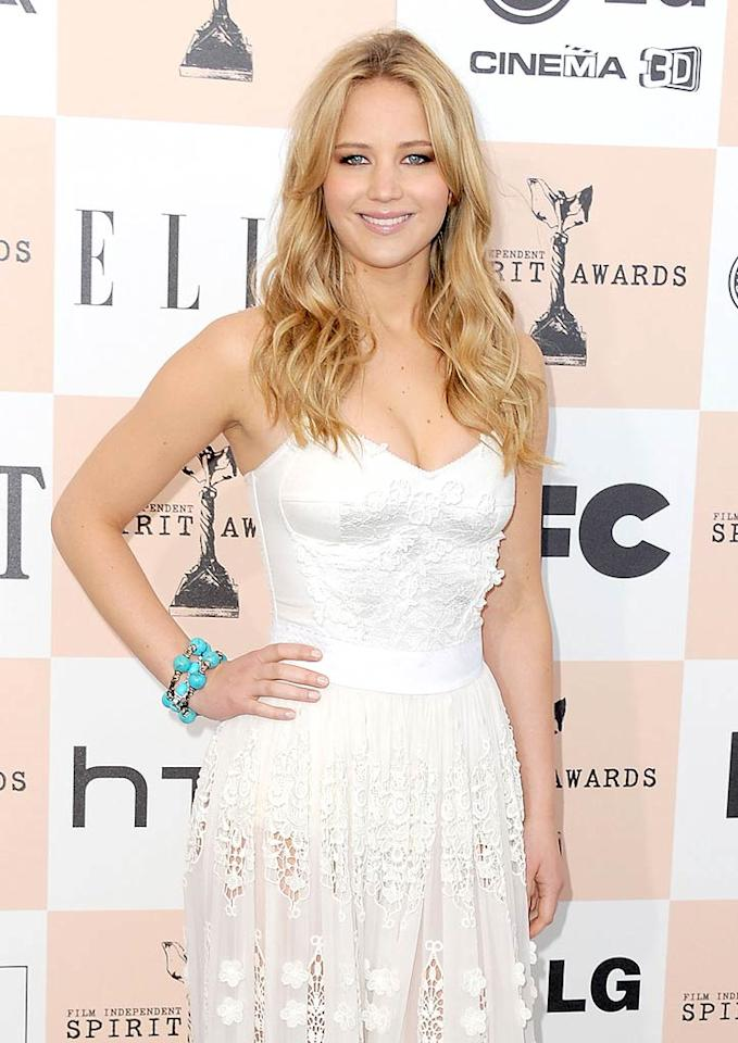 "Jennifer Lawrence (""Winter's Bone"") turns 21. Jordan Strauss/<a href=""http://www.gettyimages.com/"" target=""new"">GettyImages.com</a> - February 26, 2011"