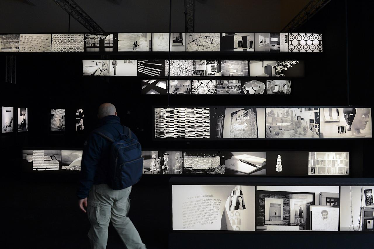 MILAN, ITALY - APRIL 17:  'Future roots' is displayed at the Triennale Milano on April 17, 2012 in Milan, Italy.  (Photo by Tullio M. Puglia/Getty Images)