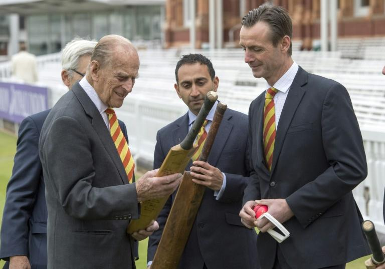 Philip was in typical good form at Lord's