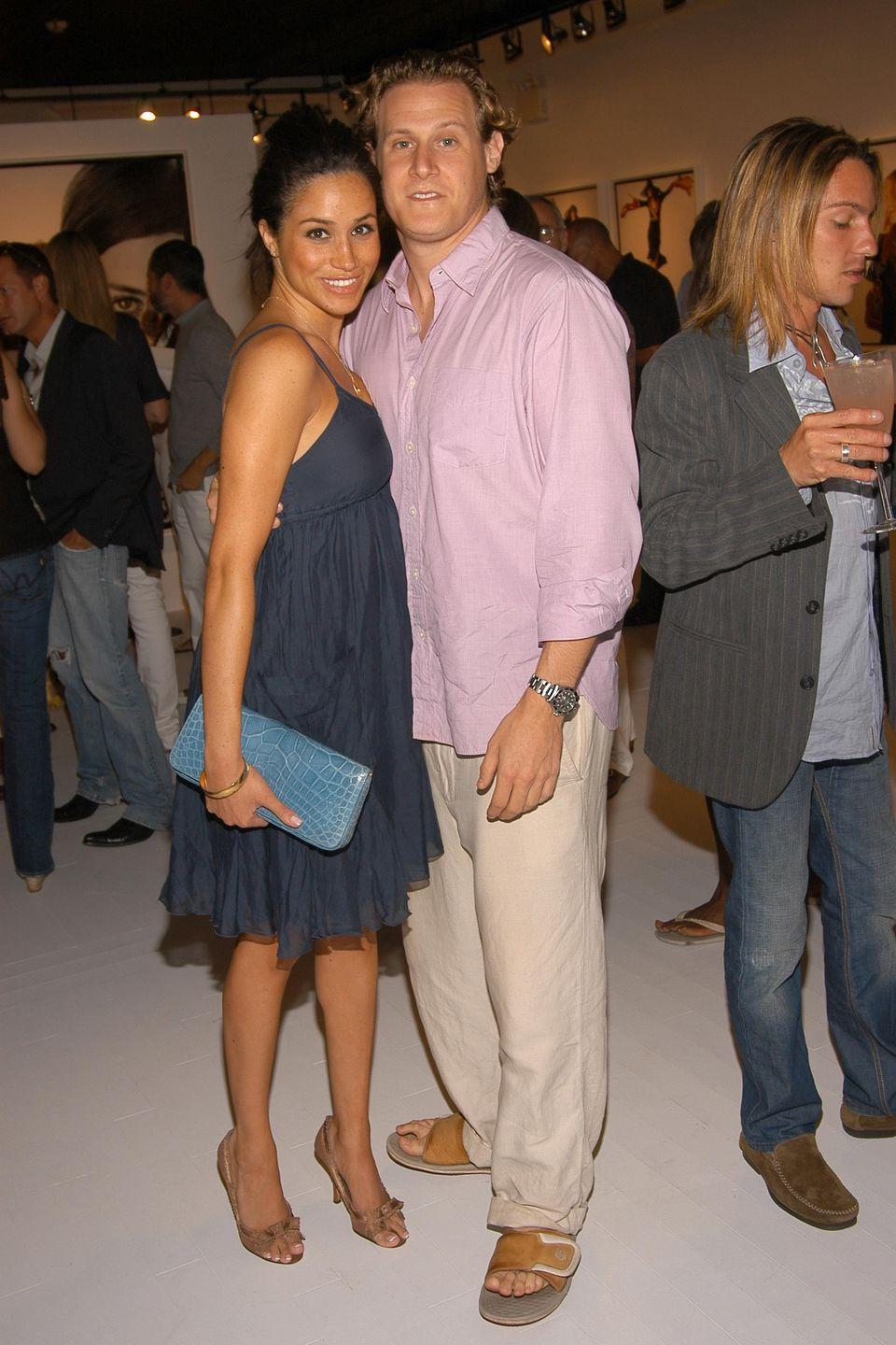 <p>In case you hadn't heard, Markle was married to Engelson, an American actor and producer, from 2011 to 2013. The two dated for almost seven years before tying the knot, but sadly divorced a few years after they made it official.</p>