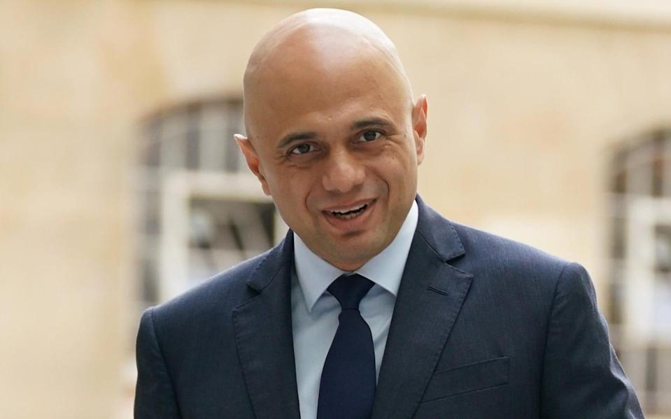 Sajid Javid said he would be 'watchful for any waste or wokery' - PA
