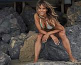 """<p>The mother-of-two celebrated Independence Day in the US, on July 4, by sharing a photo of herself sitting on a rock at the beach.</p><p>In the snap the star wears a multicoloured halterneck bikini and her hair in loose, tousled, beachy waves. </p><p><a href=""""https://www.instagram.com/p/CCO00DQjDC9/?utm_source=ig_web_copy_link"""" rel=""""nofollow noopener"""" target=""""_blank"""" data-ylk=""""slk:See the original post on Instagram"""" class=""""link rapid-noclick-resp"""">See the original post on Instagram</a></p>"""