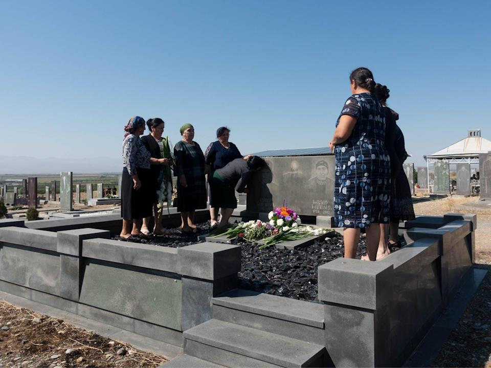 'We remember our dead every year as an act of giving wellness' (Lemma Shehadi)
