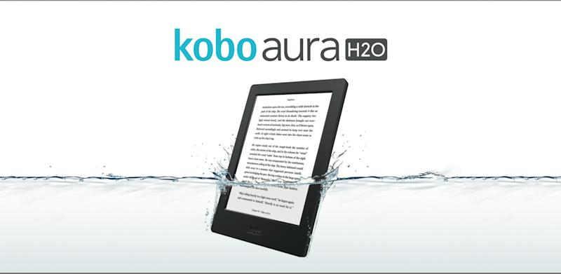 Kobo Aura H20 is World's First Waterproof Ereader