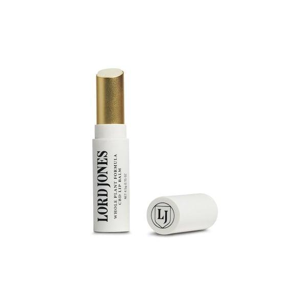 <p>Keep your lips moisturized during the winters with the <span>Lord Jones CBD Lip Balm</span> ($19).</p>
