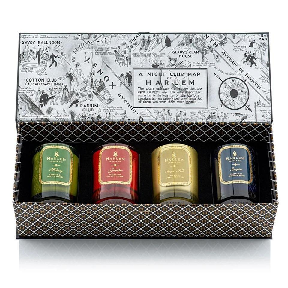 <p>Keep your kitchen smelling fresh at all times with this <span>Luxury Candle Gift Set</span> ($180, originally $195)?</p>