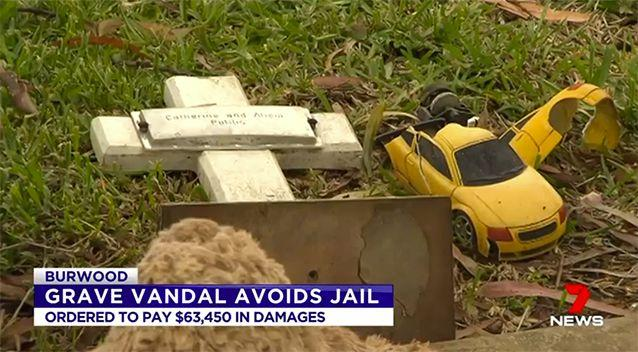 Many graves in the Rookwood Cemetery belonged to children. Source: 7 News