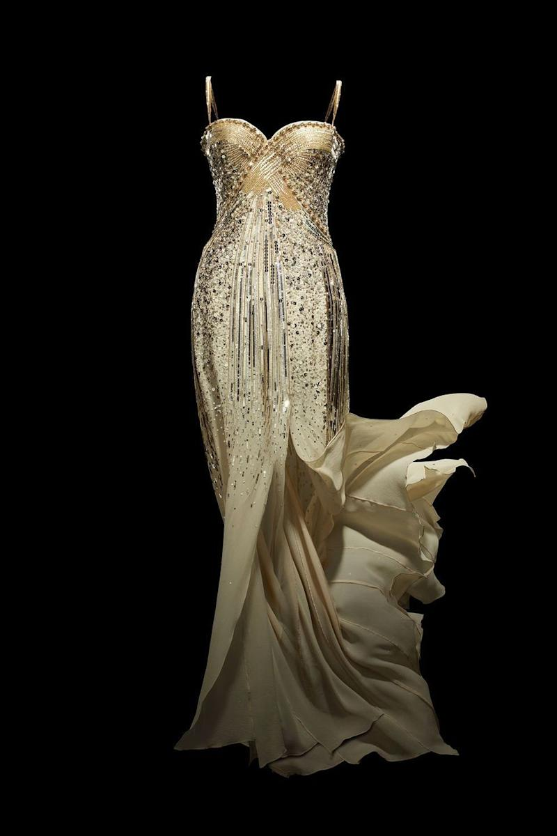 Photo credit: Christian Dior by John Galliano, J'adore, Dress, Haute Couture, 2008 (custom-made) Photo © Laziz Hamani Christian Dior Parfums collection, Paris