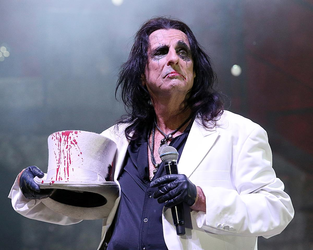 Don't feel like embracing your naturally gray hair? Alice Cooper that shit.