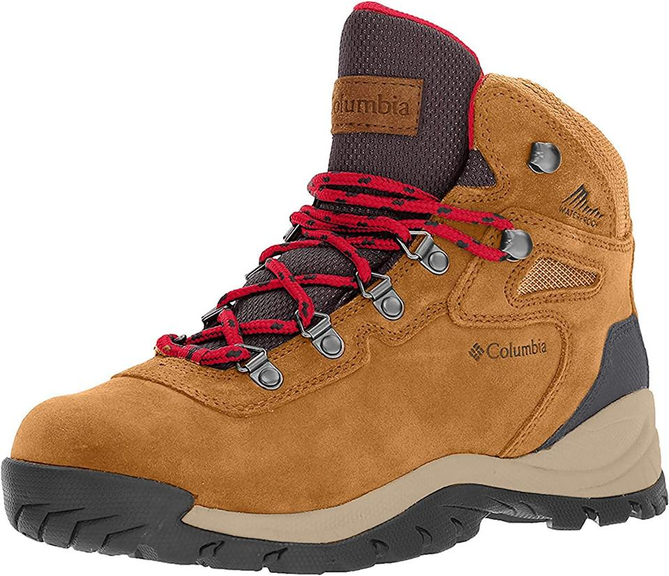 "<h2>Columbia Newton Ridge Plus Waterproof Amped Hiking Boot</h2><br><strong>The Undisputed Champion</strong><br>Amazon is overflowing with lengthy, glowing reviews for this classic Columbia hiker, replete with more than a few photos of the chic boot tromping through a host of far-flung mountainous locales. One of them was posted by an actual Sherpa. (Seriously — they provided a link to their <a href=""https://hikewithsherpa.com/"" rel=""nofollow noopener"" target=""_blank"" data-ylk=""slk:website"" class=""link rapid-noclick-resp"">website</a>.) If that doesn't count as the most ringing endorsement of all time, we don't know what does.<br><br><strong>The Hype: </strong>4.8 out of 5 stars; 4,304 reviews on <a href=""https://www.amazon.com/Columbia-Womens-Newton-Mountain-Regular/dp/B01HEH31OI/ref=sr_1_20"" rel=""nofollow noopener"" target=""_blank"" data-ylk=""slk:Amazon.com"" class=""link rapid-noclick-resp"">Amazon.com</a><br><br><strong>What They're Saying</strong>: ""I hike quite a bit because I am a SHERPA and I lead treks to Everest Base Camp, Nepal. I go through a lot of hiking shoes. This by far is the best hiking shoes I have owned. Very light and comfortable, also stylish. This summer I wore this shoe straight for 11 days (a 93-mile trek to Everest Base camp and back). I highly recommend this shoe!"" <em>— Anonymous Amazon.com reviewer</em><br><br><strong>Columbia</strong> Newton Ridge Plus Waterproof Amped Hiking Boot, $, available at <a href=""https://www.amazon.com/Columbia-Womens-Newton-Mountain-Regular/dp/B01HEH31OI/ref=sr_1_20"" rel=""nofollow noopener"" target=""_blank"" data-ylk=""slk:Amazon"" class=""link rapid-noclick-resp"">Amazon</a>"