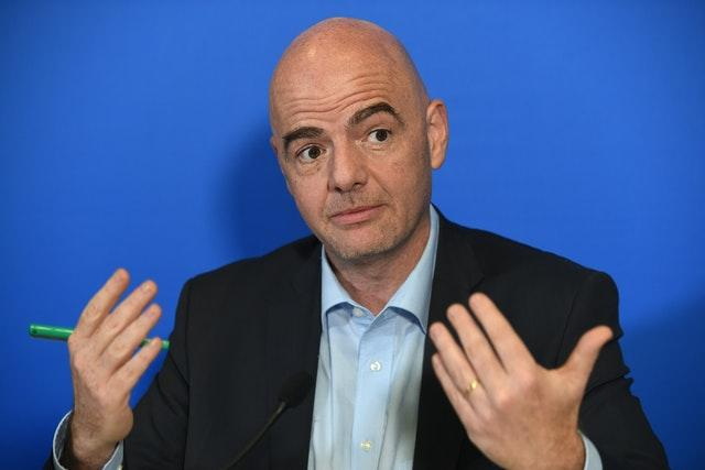 Gianni Infantino was elected FIFA president in 2016