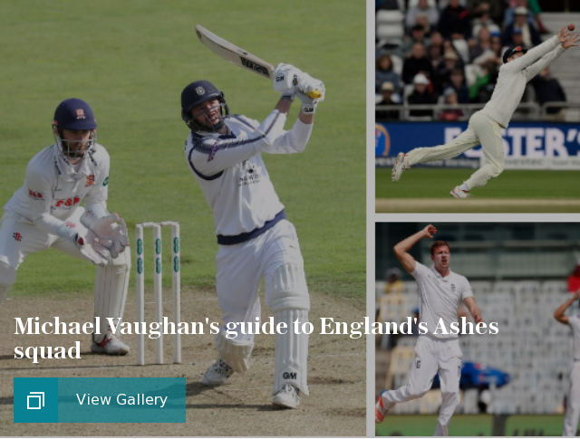 Michael Vaughan's guide to England's Ashes squad