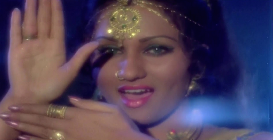 A ravishing Reena Roy plays a shapeshifting snake out to eliminate her dead lover's killers in this superhit fantasy multi-starrer. With her fantastic fashion, enviable colourful lenses and an attitude to match, Roy created the template for all avenging icchadhari naagins to come.