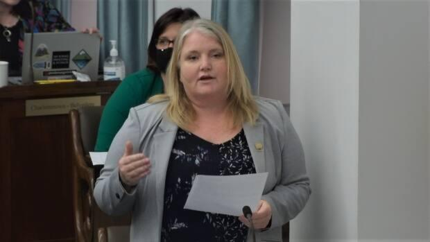Green MLA and Opposition health critic Michele Beaton said the health minister should use a ministerial order to authorize Health PEI to post the jobs. (Province of P.E.I. - image credit)