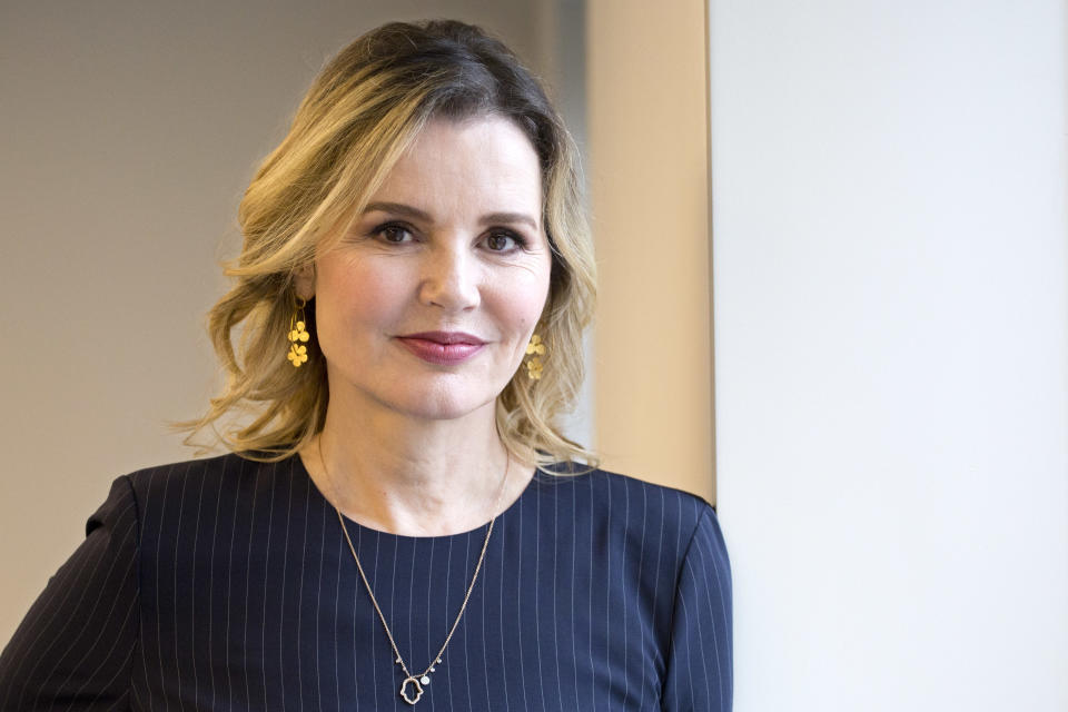 Actress Geena Davis, founder of the Geena Davis Institute on Gender and Media, in 2017. (Photo: Mark Lennihan/AP)