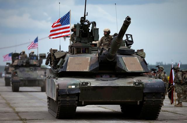 Transporting U.S. tanks to Washington, D.C., would be costly.