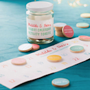 """<p>A personalised advent Calendar Jar full of 24 gorgeous wooden tokens, each with a creative activity idea for every day of advent. Pick out a token and use the suggestion as a starting point for some advent fun. Each activity suggestion needs only a few minutes - perfect for when you need to fill small pockets of time.</p><p>£24 <a href=""""http://www.notonthehighstreet.com/claraandmacy/product/personalised-advent-calendar-activity-tokens-jar"""" rel=""""nofollow noopener"""" target=""""_blank"""" data-ylk=""""slk:Not On The High Street"""" class=""""link rapid-noclick-resp"""">Not On The High Street</a></p>"""