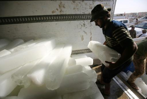 Keeping cool in combat: in Iraq the iceman cometh