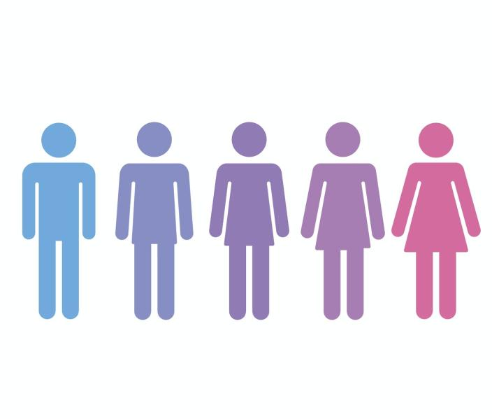 """<span class=""""caption"""">Transgender medicine uses a multidisciplinary approach to help trans youth live happier lives. </span> <span class=""""attribution""""><a class=""""link rapid-noclick-resp"""" href=""""https://www.gettyimages.com/detail/illustration/gender-transition-concept-royalty-free-illustration/499902638?adppopup=true"""" rel=""""nofollow noopener"""" target=""""_blank"""" data-ylk=""""slk:Sudowoodo/iStock via Getty Images Plus"""">Sudowoodo/iStock via Getty Images Plus</a></span>"""