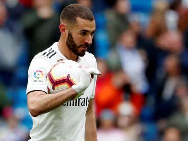 LaLiga: Karim Benzema's rich vein of form continues as French striker's hat-trick powers Real Madrid to victory against Athletic Bilbao