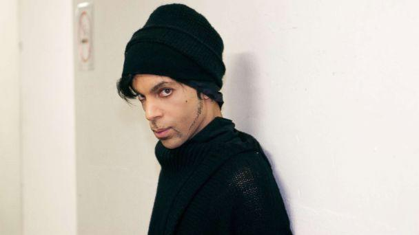 PHOTO: Prince is photographed backstage in Europe on his 'One Nite Alone Tour' in 2002. (Prince: A Private View/Afshin Shahidi)