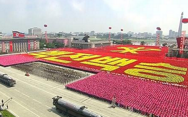 This Is What North Korea's Big Military Parade Looked Like