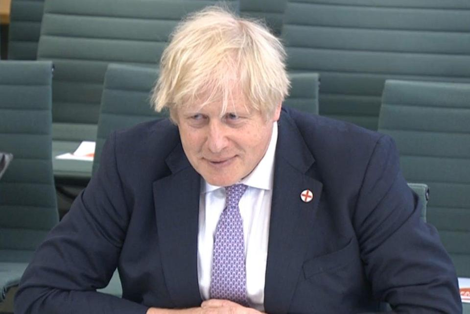 Boris Johnson gives evidence to Liaison Committee (PA Wire)
