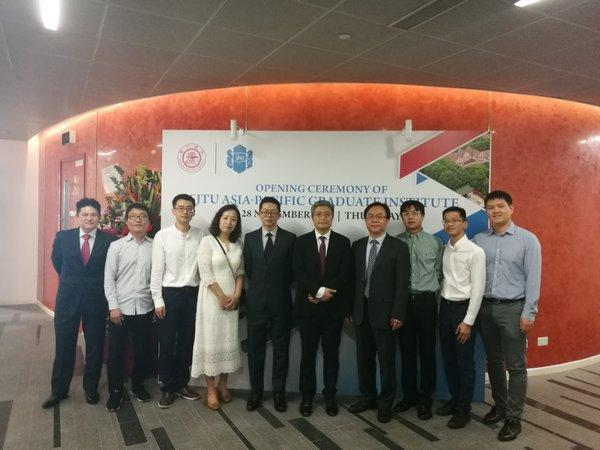 Shanghai Jiao Tong University Singapore Asia-Pacific Graduate Institute (SJTU-APGI) officially Unveiled in Singapore And Asia-Pacific Center of Antai College of Economics & Management, Shanghai Jiao Tong University Established